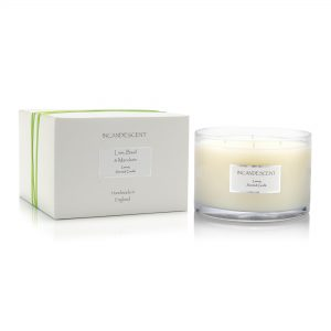 Lime, Basil and Mandarin L Scented Candle