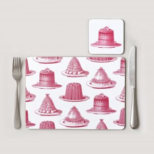jelly_cake_pink_placemat_coaster_lifestyle