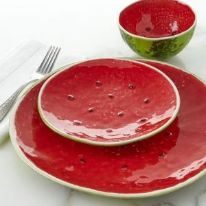 Homewares Watermelon Bowls & Plates