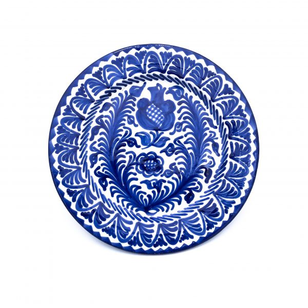 Andalusian Ceramic Plate Blue