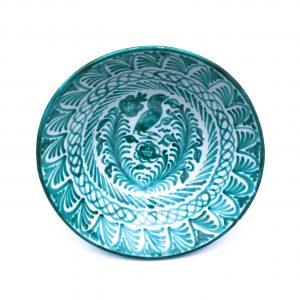 Andalusian Ceramic Large Bowl Verde