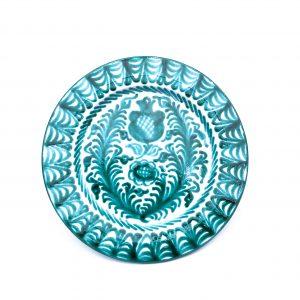Andalusian-Ceramic-Plate-Verde