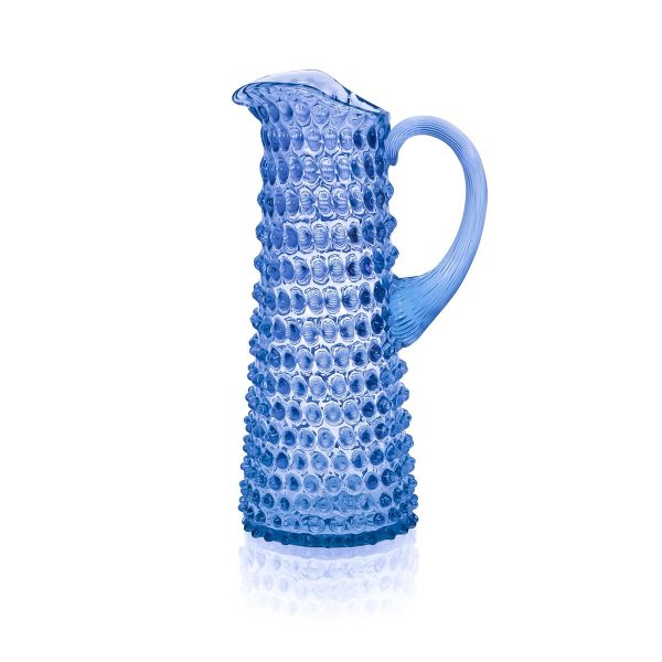 light-blue-hobnail-jug