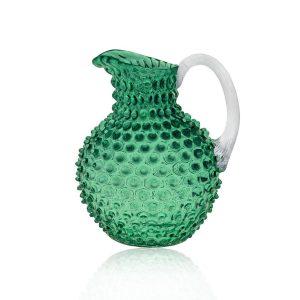 hobnail-crystal-jug-dark-green underlay