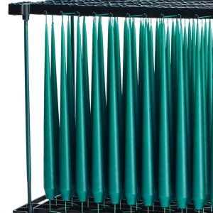 Teal Candle Rack